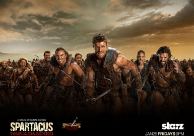 -font-b-Spartacus-b-font-Blood-and-Sand-TV-Fabric-font-b-poster-b-font